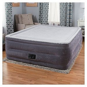 e2d9a9d544b9 Intex Comfort Plush Elevated Dura-Beam Airbed With Built-in Electric Pump