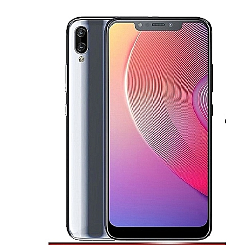 Infinix HOT S3X (X622) 6 2-Inch HD+ (3GB,32GB ROM) Android 8 1 Oreo (13MP +  2MP) + 16MP 4G Tradewinds Gray