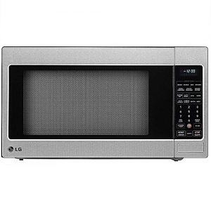 Lg 2 0 Cu Ft 57 Liters Counter Top Microwave Oven Stainless Steel